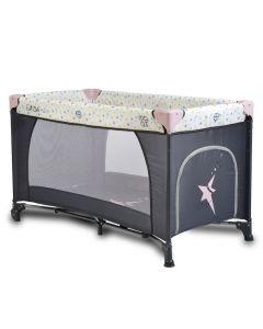 Prenosivi krevetić II nivoa Star Duo Pink