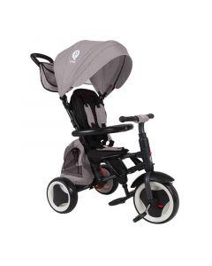 Tricikl Rito Plus 3u1 Grey
