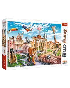 Trefl puzzla Funny cities Rome 1000kom