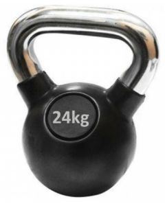 Ručni teg - Kettlebell - gumiran 24 kg
