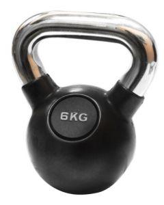 Ručni teg - Kettlebell -  gumiran 6 kg