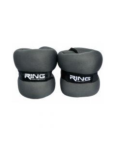 RING Tegovi sa čičkom 2x 2kg (tamno sivi)