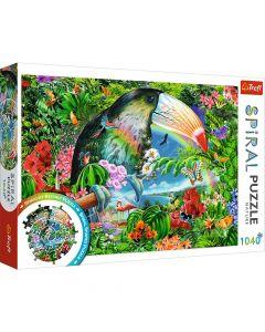 Trefl Puzzle Slagalica Spiral  Nature