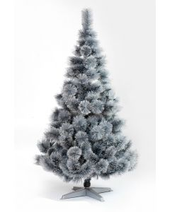 Srebrna Novogodišnja jelka 120cm