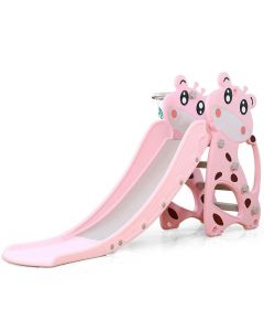 Tobogan Rocco 172cm + Koš - Pink