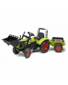 Traktor Arion 430 sa kašikom i prikolicom