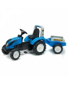 Traktor Landini Power Mondial sa prikolicom