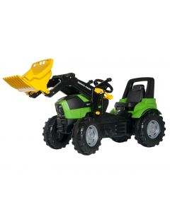 Traktor na pedale Rolly Toys Deutz Agrotron 7250 sa kašikom