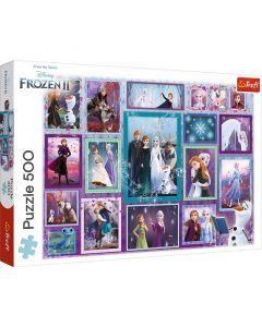 Trefl Puzzle Frozen II 500 kom