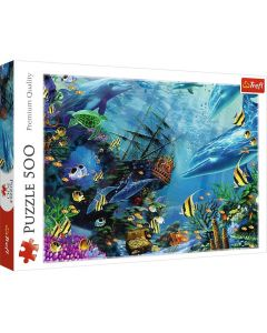 Trefl Puzzle Hidden Treasure 500 kom