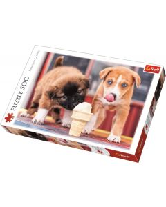 Trefl Puzzle Ice cream time 500 kom