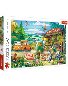 Trefl Puzzle Morning in the countryside 500 kom