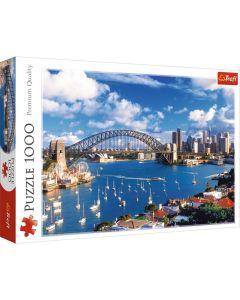 Trefl Puzzle Port Jackson Sydney 1000 kom