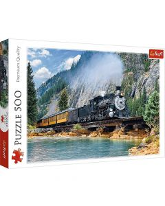 Trefl Puzzle Slagalica Mountain train 500 kom