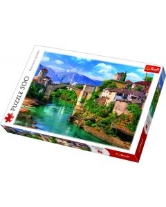 Trefl Puzzle Slagalica Old Bridge in Mostar 500 kom