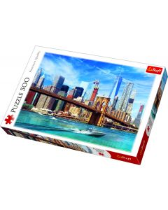 Trefl Puzzle Slagalica View of New York 500 kom
