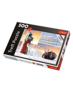 Trefl Puzzle Slagalica Winter 500 kom