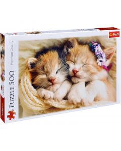 Trefl Puzzle Sleeping kittens 500 kom
