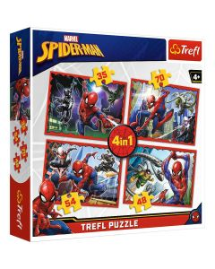 Trefl Puzzle Spider-man 4in1